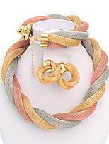 WesternRain Women's Alloy Jewelry Set Non Stone