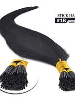 i tip hair extensions 1b 16