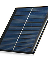 1W 5.5V Output Polycrystalline Silicon Solar Panel for DIY