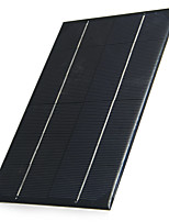 Saída 6v 4.2w silício policristalino painel solar para diy