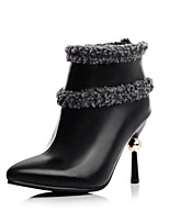 Women's Shoes Fall / Winter Fashion Boots Boots Office & Career / Party & Evening / Casual Stiletto Heel OthersBlack/6-9
