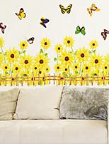Sunflowers Corner Wall Stickers
