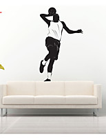 AWOO® New Pattern Play Basketball  Wall Stickers Home Decor  Vinyl  Stickers For Kids Room Decoration 4024L
