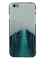 Para Funda iPhone 6 / Funda iPhone 6 Plus Diseños Funda Cubierta Trasera Funda Paisaje Dura PolicarbonatoiPhone 6s Plus/6 Plus / iPhone