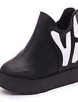 Women's Shoes Fleece Wedge Heel Platform / Fashion Boots / Combat Boots Boots Office & Career / Dress / Casual