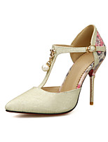 Women's / Girl's Wedding Shoes Heels Heels Wedding / Office & Career / Party & Evening / Dress Silver / Gold