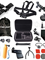 Storage Box+Headband+Chest Strap+More,29 in 1 Hot Outdoor Sports Camera Accessories Kit for GoPro Hero 1/2/3/3+/4
