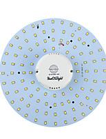 youoklight® 19w 1700lm 3000 lumière blanche / 6000k 100 smd2835 / blanc chaud conduit de lumière plafonnier à induction de corps