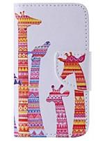 iphone 7 плюс цвет жираф окрашены пу случай телефона для Iphone 6с 6 плюс SE 5с 5с 5 4s 4