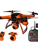 Minivet 1080p caméra drone 5200 mAh avec améliorée grand écran de 5 pouces