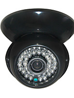 Cctv 1200tvl Hd Sony Cmos 36pcs Leds Ir-cut 3.6mm Wide Angle Indoor Dome Security Camera Black Case