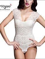 Damen Brustkorsett / Übergröße  -  Baumwolle / Spitze / Polyester / Elasthan / Modal Reißverschluss