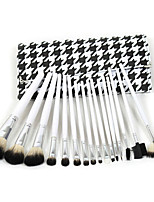 16pcs/Set Eye Shadow Foundation eyeliner Eyebrow Lip Brush Makeup Brushes set Tools cosmetics Kits