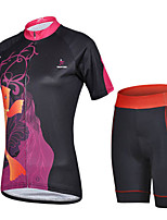 THINKOFF SAXO Unisex Cycling Clothing Sets/Suits Short Sleeve Bike Spring / Summer / Autumn / WinterQuick Dry / Dust Proof / Windproof /