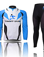 THINKOFF SAXO Unisex Cycling Clothing Sets/Suits Long Sleeve Bike Spring / Summer / Autumn / WinterQuick Dry / Dust Proof / Windproof /