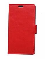 pu caso de imitação de couro genuíno sólido cartão cor wallet com suporte para Huawei y360 (cores sortidas)