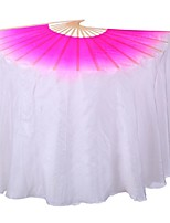 Dance Accessories Performance Stage Props Women's Performance / Training Silk Draped 1 Piece Pink