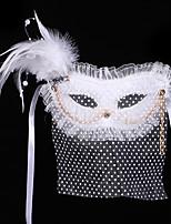 #carnival acc # geheimnisvollen Schleier Bohemien Maske Bauchtanzmaske