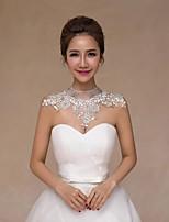 Wedding Lace Collars Sleeveless Wedding  Wraps