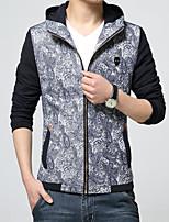New winter Men's fashion long-sleeved jacket coat leisure coat HXTX-5321