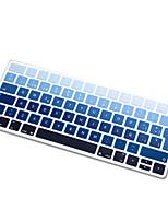 Spanish Language Rainbow gradient Ultra Thin Silicone Keyboard Skin Cover for Magic Keyboard 2015 Version EU Layout