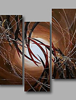 Ready to Hang Stretched Hand-Painted Oil Painting Canvas Three Panels 36