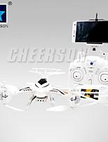 Mode hélicoptère rc professiona cheerson cx-33w-tx cx33w 2,4g fpv haute attente avec tricopter wifi rc de la caméra HD 720p