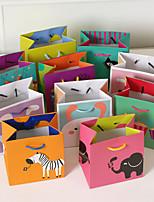 Sacoches à cadeaux ( Orange / Bleu ciel / Rose perle / Lavande / Fuchsia / Lilas / Vert / Rose / Bleu / Blanc , Papier durci )Thème