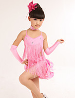 Girl's Costumes Stage performance Clothing Long-Sleeved Dress Uniformjavascript:;s
