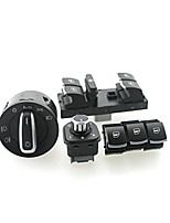 Iztoss headlight window Switch VW Passat B6 Jetta Golf MK5 MK6 CC 5ND941431B/5ND959857/5ND959855/5ND959565A 6set