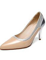 Chaussures Femme-Habillé-Noir / Bordeaux / Amande-Talon Aiguille-Bout Pointu-Talons-Similicuir