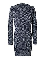 Women's Long Fashion Sweater , Long Sleeve Pullover Sweater