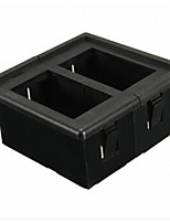 iztoss 2 sida svart plast vippströmbrytare panel bostäder switch hållare