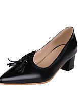 Femme Chaussures à Talons Escarpin Basique PU de microfibre synthétique Cuir Verni Polyuréthane Printemps Eté Mariage Décontracté Habillé