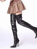 Women's Shoes Sexy 12cm Heel Height Pointed Toe Stiletto Metal Heel Over The Knee Boots
