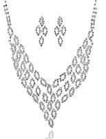 Per donna Girocolli Di forma geometrica Diamanti d'imitazione Lega Classico Gioielli Per Matrimonio Feste Compleanno Fidanzamento