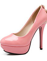 Women's Heels Spring / Fall / Winter Heels / Platform / Comfort / Pointed Toe Patent Leather / LeatheretteOutdoor /