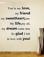 AWOO®  Sweeheart  Wall Sticker DIY Home Decorations Quotes Vinyl Wall Decals Wall Mural Art