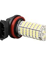 alta potência h11 auto carro nevoeiro lâmpada lâmpada do farol 3528SMD branco 120 LEDs de luz 12v 800LM 5000-6000k
