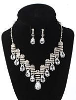 Жен. Ожерелья с подвесками Стразы Свисающие Стразы Классика Бижутерия Для Свадьба Для вечеринок Особые случаи День рождения Обручение1