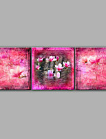 3 Sets Oil Painting Floral Handmade Painting Design