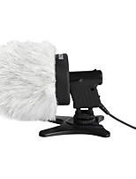BOYA BY-P80 Furry Outdoor Interview Microphone Windshield Muff for Shotgun Capacitor Microphones