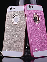 BIG D Metal Bling Pattern Back Cover for iPhone 4/4S
