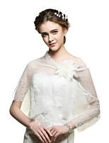 Wedding / Party/Evening / Casual Lace Capelets Sleeveless Wedding  Wraps