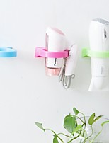 Cup Hair Dryer Holder Wall Shelf (Ramdon Color)
