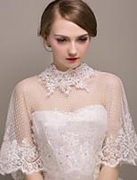 Wedding / Party/Evening Tulle Shawls Sleeveless Shawls