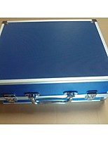 Tattoo Blue Small Aluminum Box With Nail S02