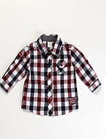 Boy's Shirt , Check Cotton