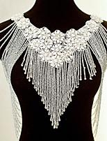Wedding Sequined Ponchos Sleeveless Wedding  Wraps