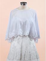 Wedding / Party/Evening / Casual Chiffon / Lace Coats/Jackets Sleeveless Wedding  Wraps